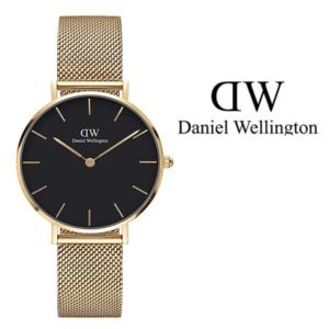 Daniel Wellington® Relógio Petite Evergold Black 32 mm - DW00100347