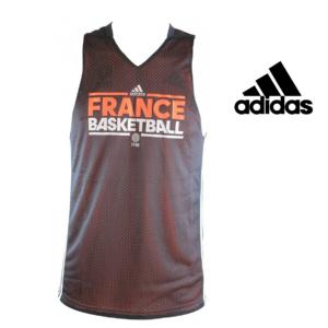 Adidas® Camisola França Basketball - Dupla Face