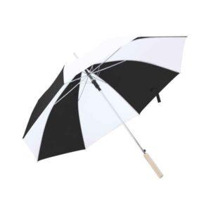Guarda-Chuva Nylon (105 cm) Branco/Preto