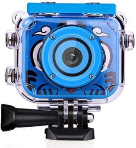Câmara Desportiva HD 1080 px 12 MP Infantil Azul (Refurbished A+)
