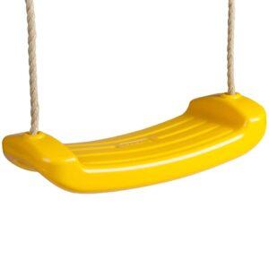 TRIGANO Assento de baloiço p/ conjuntos de 1,9-2,5 m amarelo J-427 - PORTES GRÁTIS