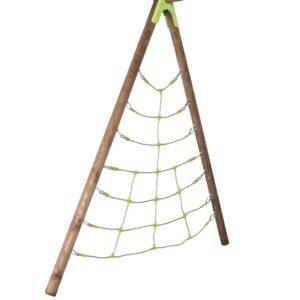 TRIGANO Kit de rede Spider p/ conj. baloiços de madeira 2,3 m J-900550 - PORTES GRÁTIS
