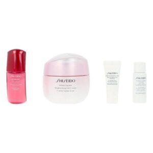 Conjunto de Cosmética Mulher White Lucency Brightening Shiseido (4 Peças)
