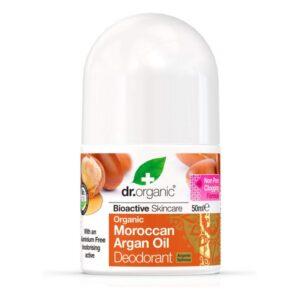 Desodorizante Roll-On Moroccan Argan oil Dr.Organic (50 ml)