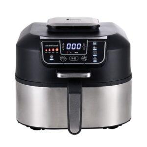 Robot de Cozinha Masterpro Smokeless Grill Preto 1760 W