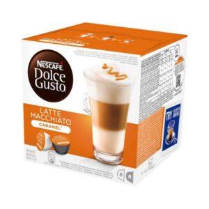 16 Cápsulas de café Nescafé Dolce Gusto 24191 Latte Macchiato  Caramelo