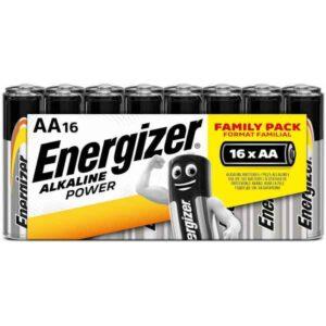 Pilhas Alcalinas Energizer E91CFP16 AA (16 uds) (Refurbished A+)