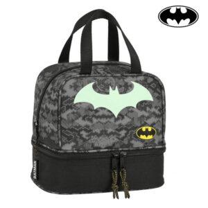 Lancheira Batman Preto Cinzento (15 L)