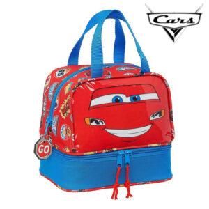 Lancheira Cars Azul Vermelho (15 L)