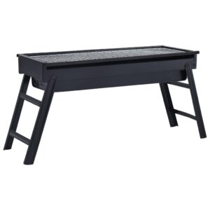 Churrasqueira portátil para campismo 60x22,5x33 cm aço - PORTES GRÁTIS