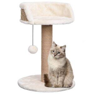 Árvore para gatos c/ postes arranhadores 49 cm erva marinha - PORTES GRÁTIS