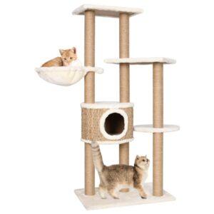 Árvore para gatos c/ postes arranhadores 126 cm erva marinha - PORTES GRÁTIS