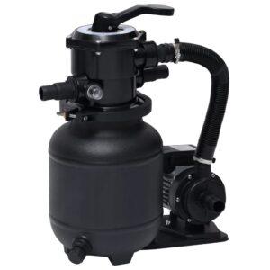 Bomba filtro de areia p/ piscina com válvula de 7 posições 18 L - PORTES GRÁTIS