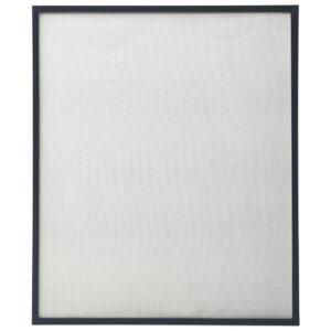 Tela anti-insetos para janelas 100x120 cm antracite - PORTES GRÁTIS