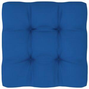 Almofadão para sofá de paletes 60x60x12 cm azul real - PORTES GRÁTIS