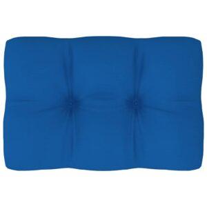 Almofadão para sofá de paletes 60x40x12 cm azul real - PORTES GRÁTIS