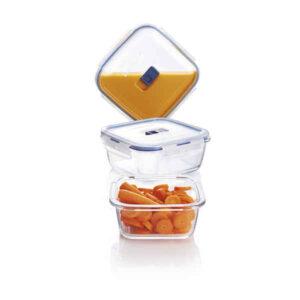 Conjunto de Lancheiras Luminarc Pure Box Active (3 pcs) Cristal