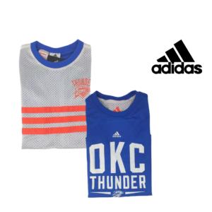 Adidas® Caveada Dupla Face Oklahoma City Thunder Júnior   Tamanho 11/12 Anos