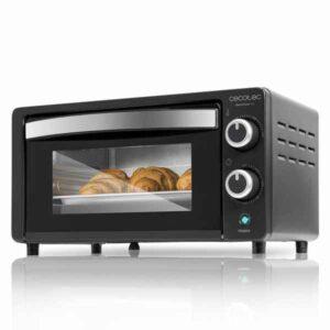 Forno Compacto Cecotec Bake&Toast 450 Sobremesa Preto 10L 1000W (Refurbished A+)