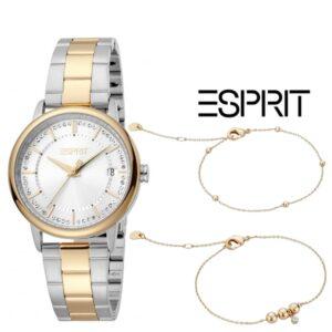Esprit® Conjunto Relógio +  2 Pulseiras ES1L181M2085