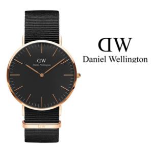 Daniel Wellington® Relógio Classic Black Cornwall | 40 mm
