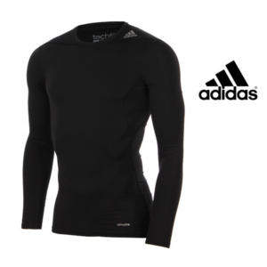 Adidas® Camisola Techfit Mens Long Sleeve Baselayer