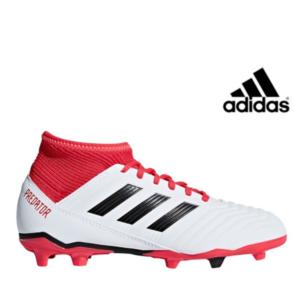 Adidas® Chuteiras Predator 18.3 White/Red | Tamanho 34