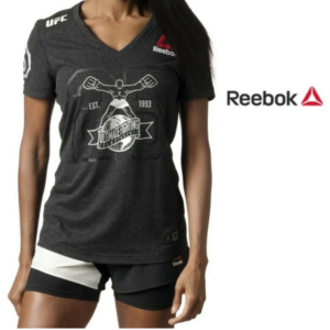Reebok® T-Shirt UFC Fighter Silver