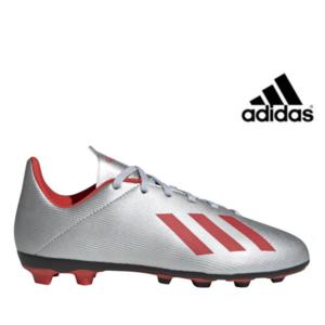 Adidas® Chuteiras X 19.4 FxG Silver