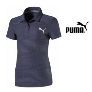 Puma® Polo Pounce Aston Júnior Golf Dark | Tamanho 12 Anos
