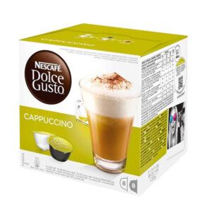 16 Cápsulas de café Nescafé Dolce Gusto 98492 Cappuccino