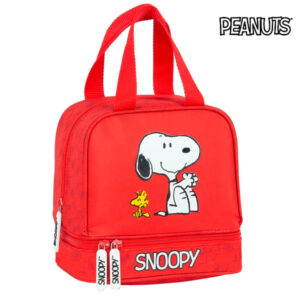 Lancheira Snoopy Vermelho (15 L)