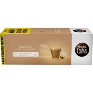 48 Cápsulas de Café com Estojo Nescafé Dolce Gusto Espresso Macchiato