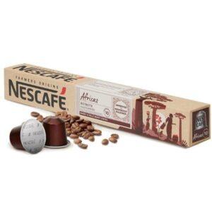 Nescafé 10 Cápsulas de café FARMERS ORIGINS AFRICAS