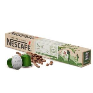 Nescafé 10 Cápsulas de café FARMERS ORIGINS BRAZIL