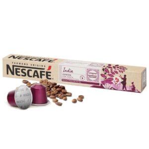 Nescafé 10 Cápsulas de café FARMERS ORIGINS INDIA