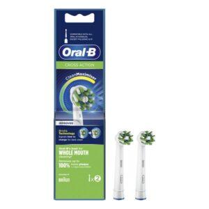 Cabeça de Substituição Cross Action Oral-B (2 Peças)