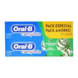 Pasta de dentes Complete Oral-B (2 uds)
