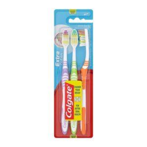 Escova de Dentes Extra Clean Colgate (3 uds)