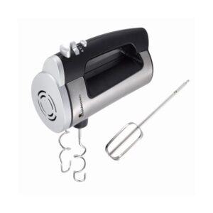 Batedora de Mão Masterpro Prateado 300 W Plástico Aço inoxidável