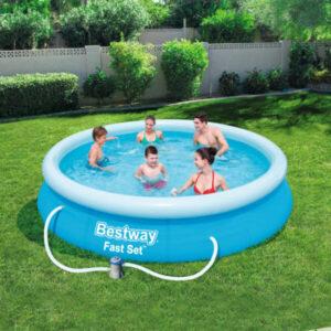 Conjunto de piscina Fast Set 366x76 cm 57274 - PORTES GRÁTIS