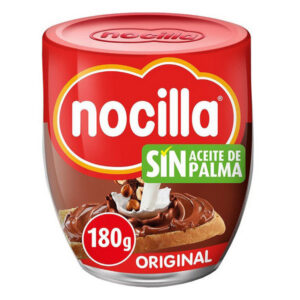 PACK 2 Chocolate Spread Nocilla Original ( 2 X 180 g ).