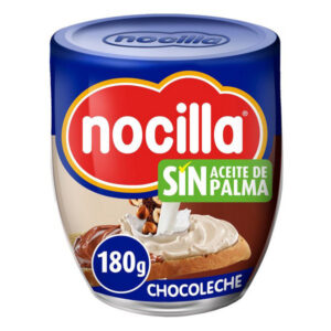 PACK 2 Chocolate Spread Nocilla ( 2 X 180 g ).