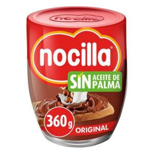 PACK 2 Chocolate Spread Nocilla Original ( 2 X 360 g ).