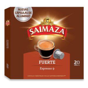 20 Cápsulas de café Saimaza Espresso 9