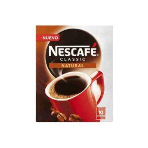 10 Unidades Café solúvel Nescafé Natural