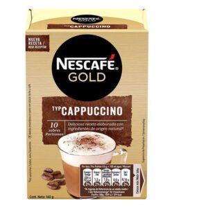 10 Unidades Café solúvel Capuccino Nescafé