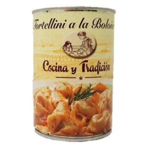 PACK de 3 Tortellinis Cocina y Tradición Com Molho Bolonhesa ( 3 X 390 g )
