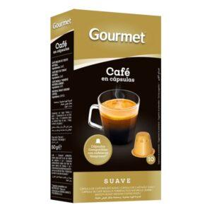 10 Cápsulas de café Gourmet Suave