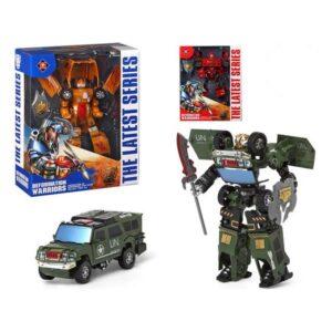 Carro robot Deformation Warriors 112970